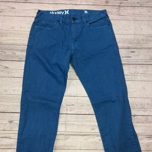 Men's Hurley blue denim jeans